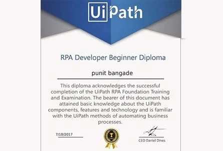 Uipath Certification