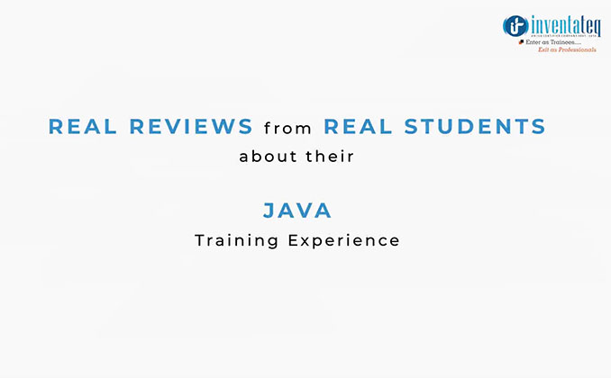 Java Training Course Bangalore, Best Java Training