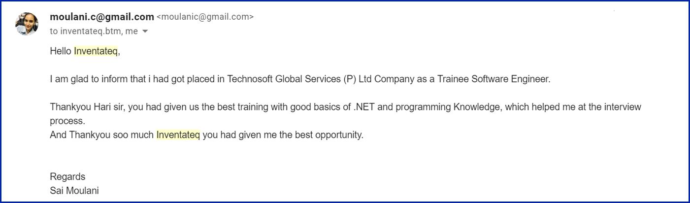 Net Training Institute Bangalore BTM Marathahalli, Best Dot Net Courses,  WCF WPF Asp Net, c# Net, VB NET Training Classes - Inventateq